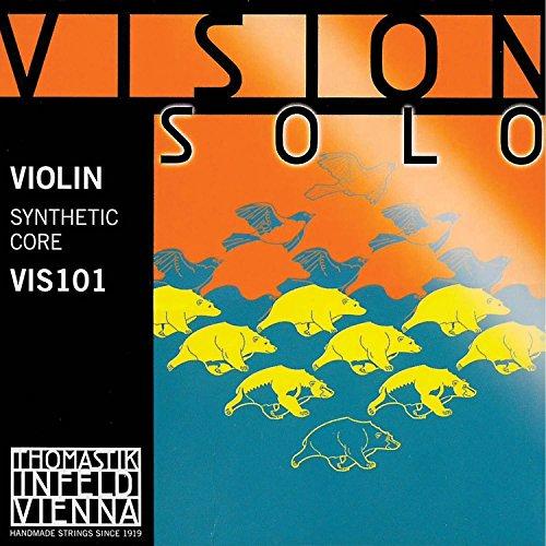 Thomastik Vision Solo 4/4 Violin String Set - Medium Gauge