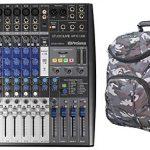 Presonus StudioLive AR12 USB Hybrid Live Sound/Studio Recording Mixer+CAMOPACK