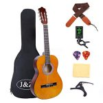 Classical Guitar Acoustic Guitar 3/4 Junior Size 36 inch Kids Guitar for Beginners