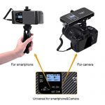 Comica CVM-WS60 Combo Wireless Dual Lavalier Lapel Microphone System, with 2 Transmitter and 1 Recevier, 194ft Wireless Range, Wireless Microphone for Smartphone iPhone Canon Nikon Sony Camera 3