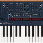 KORG Monologue 25-Key Compact Monophonic Analog Synthesizer – Blue