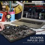 Hercules DJControl Inpulse 200 Compact DJ Controller + Headphone + Basic Accessory Bundle 1