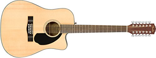 Fender Right Handed 12 String Acoustic-Electric Guitar