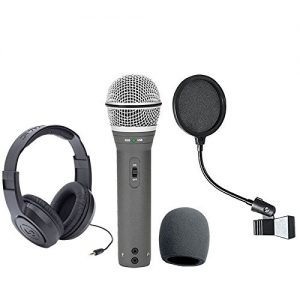 Samson Recording and Podcasting Pack with USB/XLR Dynamic Microphone