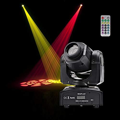 HSL LED Moving Head Light Gobo Spotlight LED Stage Lighting