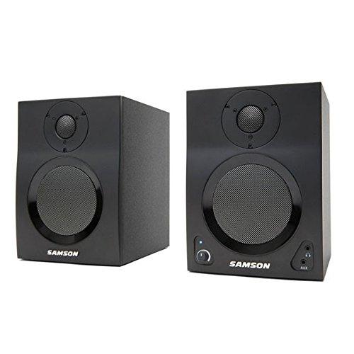 Samson MediaOne Active Studio Monitors with Bluetooth
