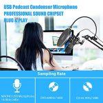 USB Microphone MAONO A04 Plus Cardioid Condenser Podcast Mic 192kHz/24bit Plug and Play, Provide Two Mic Holders for Livestreaming, Voice Over, YouTube, Gaming, ASMR 3