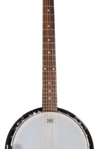 6 String Banjo Guitar with Closed Back Resonator