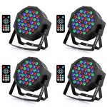 Stage Lights, YeeSite 36W LED Par Can RGB Mixed Effect Sound