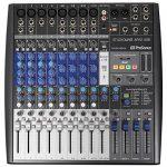 Presonus StudioLive AR12 14-Ch USB Live Sound/Recording Mixer+2) Studio Monitors 1