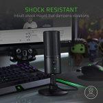 Razer Seiren X USB Streaming Microphone: Professional Grade – Built-In Shock Mount – Supercardiod Pick-Up Pattern – Anodized Aluminum – Matte Black 2