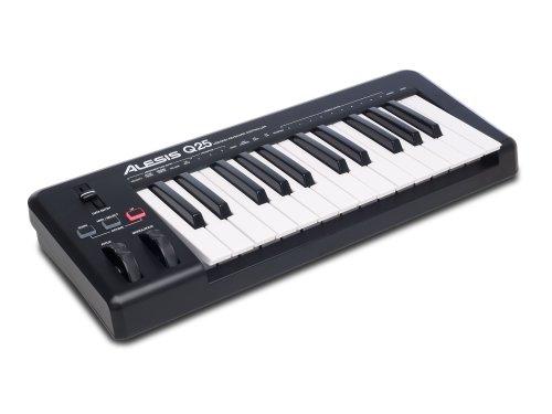 Alesis 25-Key USB MIDI Keyboard Controller