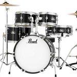 Pearl Roadshow Drum Set, Black