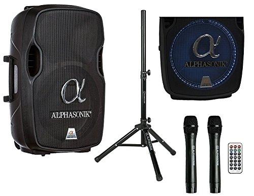 "Alphasonik 12"" Portable Rechargeable Battery Powered"
