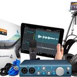 Presonus AudioBox iTwo Studio Audio Interface Full Studio Bundle