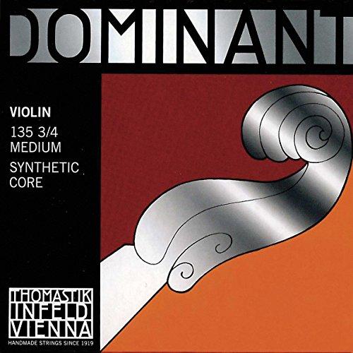 Thomastik Dominant 3/4 Violin String Set - Medium Gauge