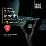 Cutaway Classical Guitar with Savarez Nylon Strings by Hola! Music, Full Size 39 Inch Model HG-39C, Natural Gloss Finish – FREE Padded Gig Bag Included 1