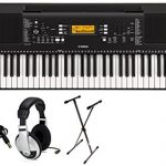 Yamaha PSRE363 Premium Keyboard Package with YXKS Stand