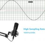 USB Microphone MAONO A04 Plus Cardioid Condenser Podcast Mic 192kHz/24bit Plug and Play, Provide Two Mic Holders for Livestreaming, Voice Over, YouTube, Gaming, ASMR 2