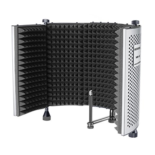 Neewer Foldable Adjustable Portable Sound Absorbing Vocal Recording Panel