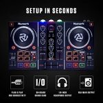 Numark Party Mix | Beginners DJ Controller for Serato DJ Intro With 2 Channels, Built In Audio Interface With Headphone Output, Pad Performance Controls, Crossfader, Jogwheels and Light Display 2