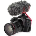 Rode VideoMic GO On-Camera Shotgun Microphone and DeadCat Wind Cover Kit 3