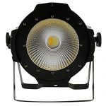 Tengchang 200W LED Stage Par Light COB Cool & Warm White 2 in1 PAR64 DMX DJ Lighting 1