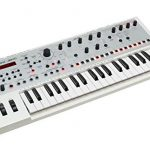 Roland JD-Xi Interactive Analog/Digital Crossover 37-key Synthesizer, white, WH 1