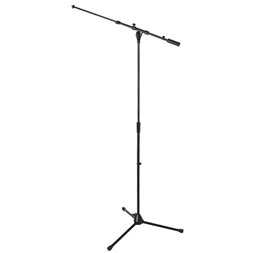 On Stage Plus HD Tele Boom Mic Stand