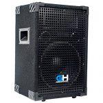 Grindhouse Speakers – GH10L-Pair – Pair of Passive 10 Inch 2-Way PA/DJ Loudspeaker Cabinet  – 600 Watt each Full Range PA/DJ Band Live Sound Speaker 1