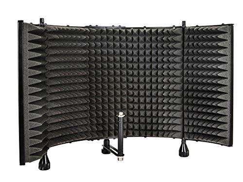 Monoprice Microphone Isolation Shield - Black