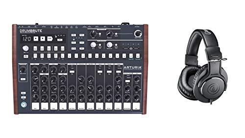 Arturia DrumBrute Drum Machine Bundle with Audio-Technica