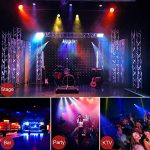 Par Lights DMX, RGB 36 LED DJ Stage light Sound Activated 7 Modes Uplighting with Remote Control DJ Equipment for Church Club Christmas Wedding Party Indoor Event Dance (2 Pack) 1