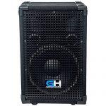 Grindhouse Speakers – GH10L-Pair – Pair of Passive 10 Inch 2-Way PA/DJ Loudspeaker Cabinet  – 600 Watt each Full Range PA/DJ Band Live Sound Speaker 2