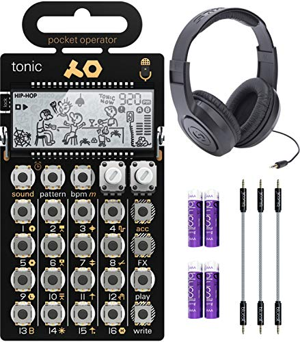 Teenage Engineering Pocket Operator Tonic Drum Synth Bundle