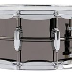 Ludwig LB417 Black Beauty 6.5″ x 14″ Smooth Brass Snare Drum with Imperial Lugs