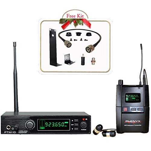 Phenyx Pro UHF Stereo Wireless in Ear Audio Monitor System