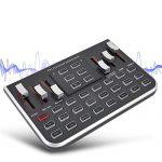 Zopsc F8 Live Sound Card External Audio Mixer Mobile Phone
