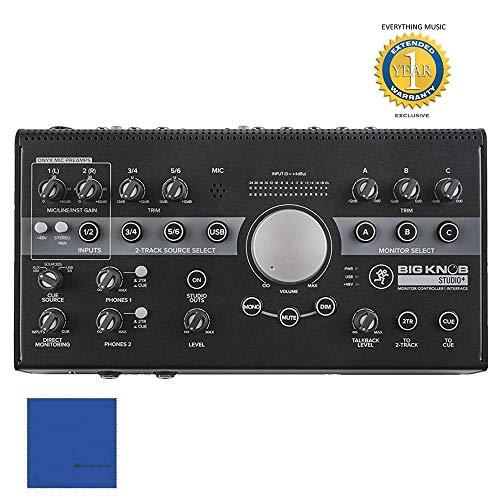 Mackie Big Knob Studio+ Monitor Controller and Interface