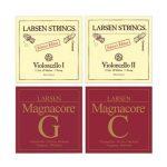 Larsen Magnacore Soloist 4/4 Cello String Set – Medium