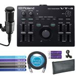 Roland Voice Transformer Vocal Effects Processor Bundle