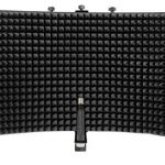 Rockville Pro Recording Studio Microphone+Isolation Shield+Mount+Filter+Stand 1