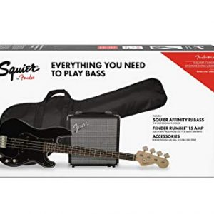Squier by Fender Affinity Series Precision Bass PJ Beginner Pack