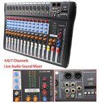 USB CT120S Sound Live Studio Mixer 12 Channel Line PRO Audio Mixing Consoles 2