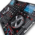 Numark NV II | Professional DJ Controller for Serato DJ (Included) With Dual High Resolution Displays 1