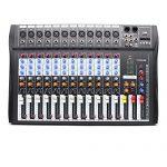 USB CT120S Sound Live Studio Mixer 12 Channel Line PRO Audio Mixing Consoles 3