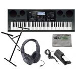 Casio Workstation Keyboard w/ Stand, Sustain Pedal, and Headphones