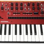 Korg Monologue Monophonic Analog Synthesizer with Presets-Red (MONOLOGUERD) 1