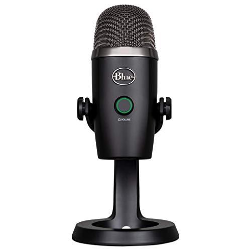 Blue Yeti Nano Premium USB Mic for Recording and Streaming-Blackout