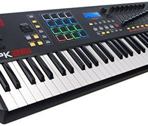 Akai Professional | 61-Key Semi-Weighted USB MIDI Keyboard Controller